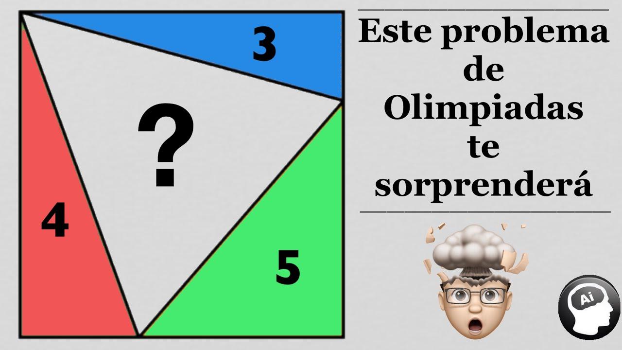 Problema de Olimpiada que hará explotará tu cerebro 😱🤓🤔