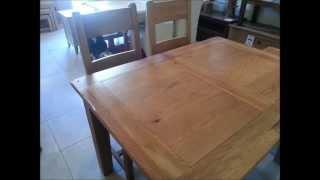Solid Oak Dining Tables Edinburgh. Small Oak Dining Tables - Extending Small Oak Tables Edinburgh