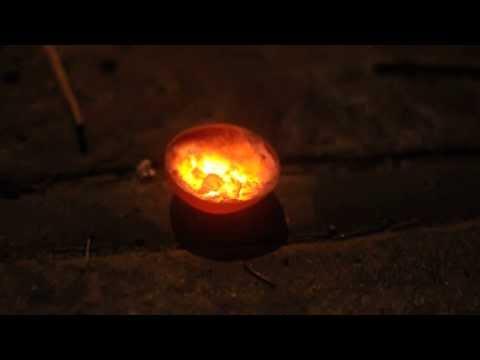 Neodymium Thermite in Tantalum crucible