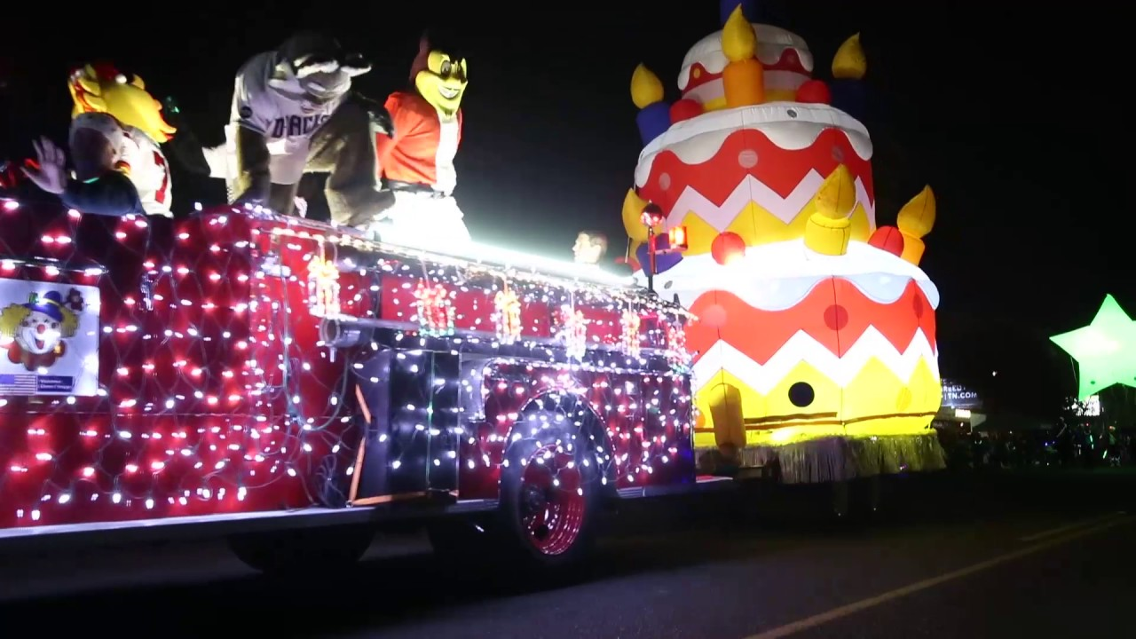 APS Electric Light Parade in 1 min 45 seconds - YouTube