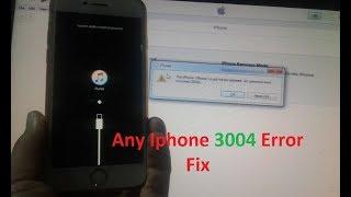 Best Way to Fix iTunes Error 3194 for iOS 11 and iOS 10 iPhone/iPad/iPod Hindi urdu Tutorials.