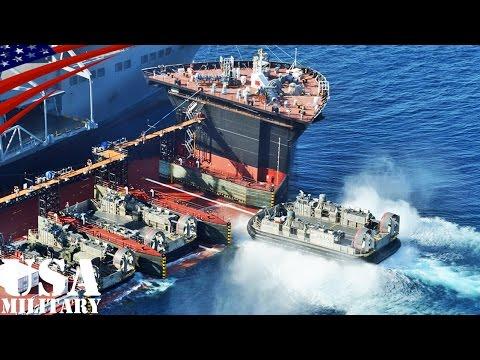 遠征ドック型運搬艦・LCACを3隻同時運用できる海上兵站基地【新艦種】 - Expeditionary Transfer Dock (ESD) USNS Montford Point