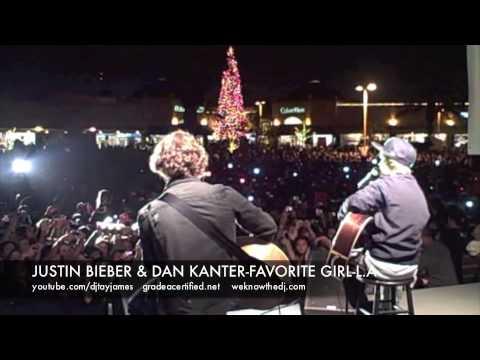 JUSTIN BIEBER & DAN KANTER-FAVORITE GIRL: L.A