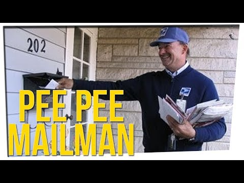 Porch Camera Catches Mailman Peeing ft DavidSoComedy