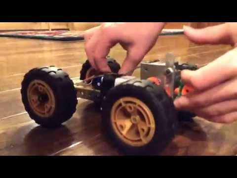 9 volt erector set motor. so fast!