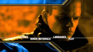 The Bourne Identity /DVD MENU /