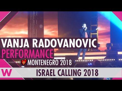 "Vanja Radovanovic ""Inje"" (Montenegro) LIVE @ Israel Calling 2018"