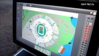 Штабной интерактивный сенсорный стол с подключенной системой беспроводных видеокамер.(Интерактивный стол имеет сенсорный защищенный монитор, разработан для оперативного развертывания мобильн..., 2013-08-16T11:28:30.000Z)