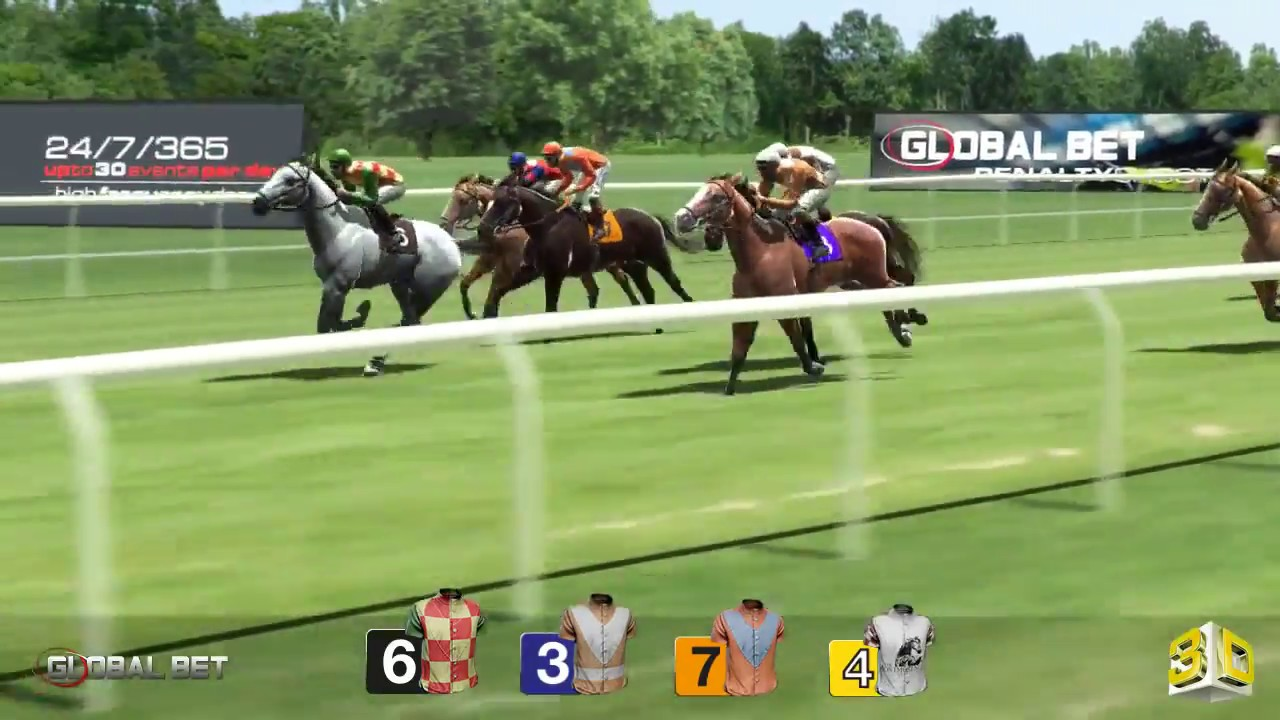 Virtual horse race betting paroli betting strategy for blackjack