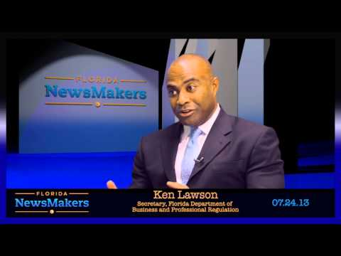 Florida NewsMakers: Secretary of the State Department of Business & Regulation, Ken Lawson