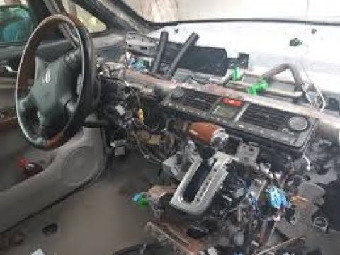Honda Elysion разборка панели приборов