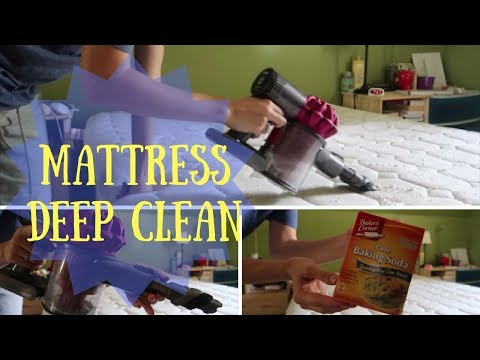 DEEP CLEAN the Mattress! EASY, QUICK and AFFORDABLE!