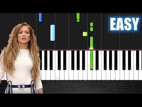 Jennifer Lopez - Ain't Your Mama - EASY Piano Tutorial by PlutaX