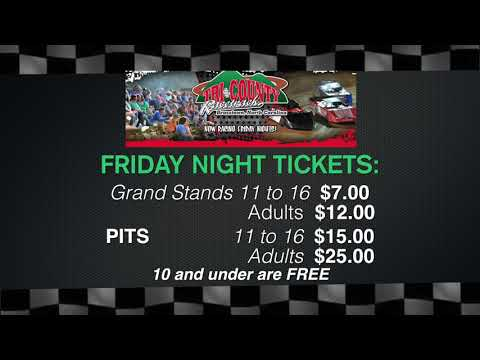 The season finale at Tri-County Racetrack is Nov. 2nd & 3rd.