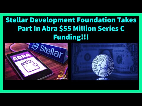 STELLAR XLM MAKES MASSIVE INVESTMENT IN CRYPTO EXCHANGE ABRA!!! XLM NEWS AND UPDATES!!
