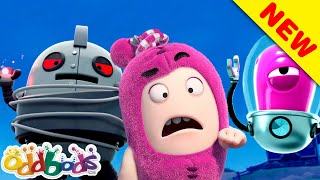 ODDBODS | Aliens & Robots! | Cartoons For Kids