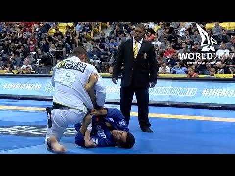 """Rubens """"Cobrinha"""" Charles vs Leonardo Saggioro / World Championship 2017"""