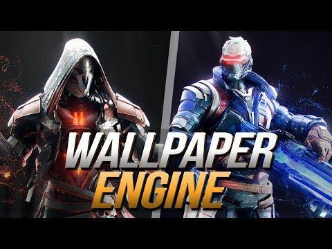 Overwatch Wallpaper Engine | Animierte Hintergrundbilder | Deutsch