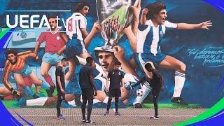 Porto UEFA Youth League skills challenge