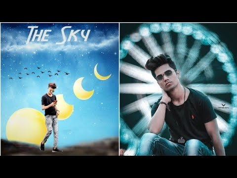 THE SKY EDITING - Viral Movie Poster Editing Tutorial In Picsart Mobile Editing Application