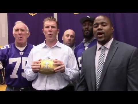 CDH Honored with NFL Super Bowl Golden Football- Matt Birk