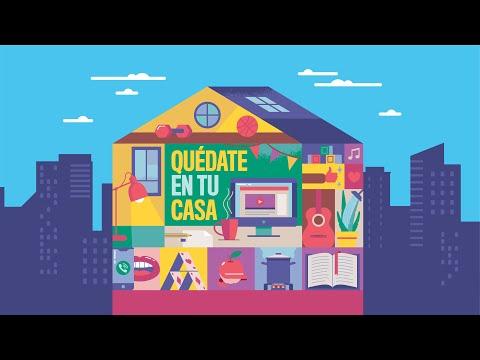 Quédate en tu casa:eltema español que busca animar la cuarentena