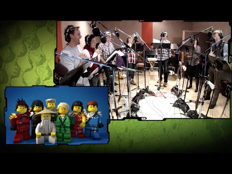 Voice Recording  LEGO Ninjago  DVD Bonus