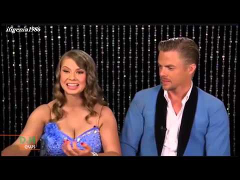 Bindi Irwin & Derek Hough - Promo photo shooting interviews