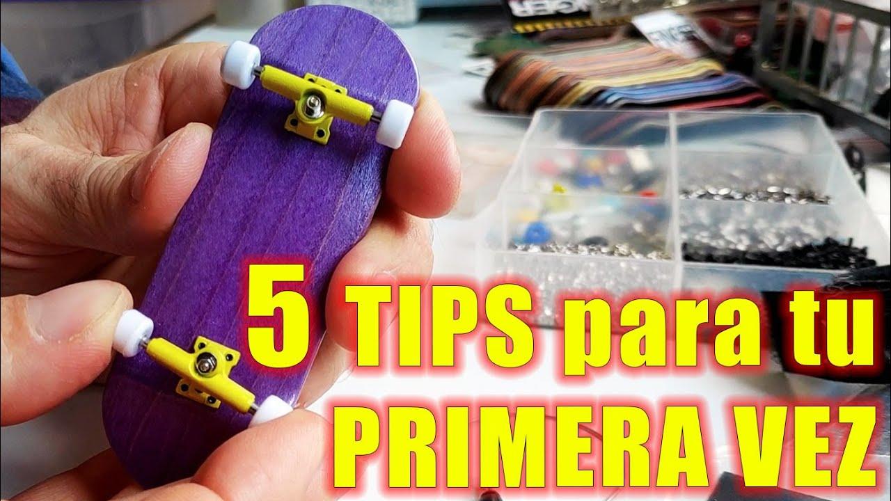 5 TIPS para tu PRIMERA VEZ armando un FINGERBOARD