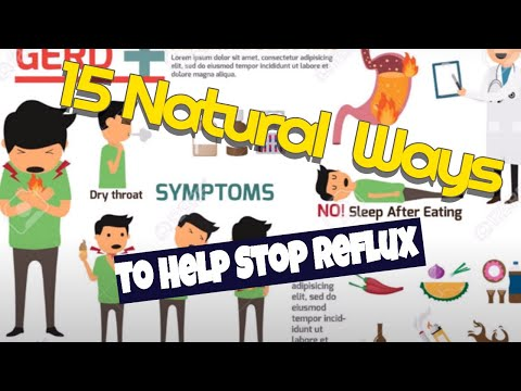 15 natural ways I use to help my silent reflux lpr Gerd acid reflux