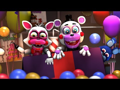 [SFM FNAF 6] Cute Helpy Vs Molten Springtrap BALLPIT  FGTEEV Jaze cinema  Animation