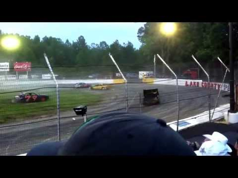 The knight of destruction tour of destruction live at lake county speedway skid plate racing