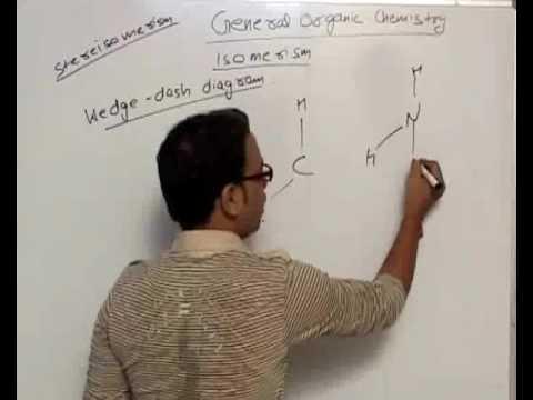 Wedge Dash Diagram - General Organic Chemistry Part 21
