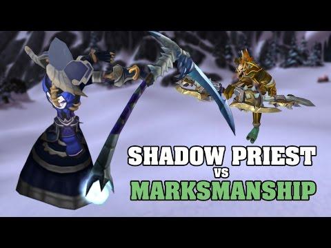 WoD PvP Hunter vs. Shadow Priest Guide (ПвП Охотник vs. Жрец Тьмы гайд)