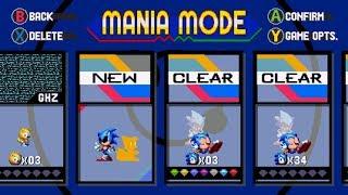 Mania Plus Mod - Sonic Mania: VS Exe