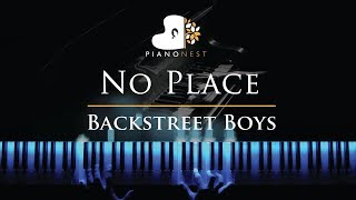 Backstreet Boys No Place Piano Karaoke Sing Along Cover With Lyrics