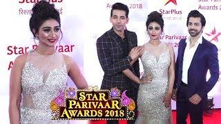 Star Parivaar Awards 2018 Red Carpet  Yeh Rishta Kya Kehlata Hai Cast Fun Interview
