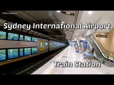 Sydney International Airport Train Station | Sydney Trains