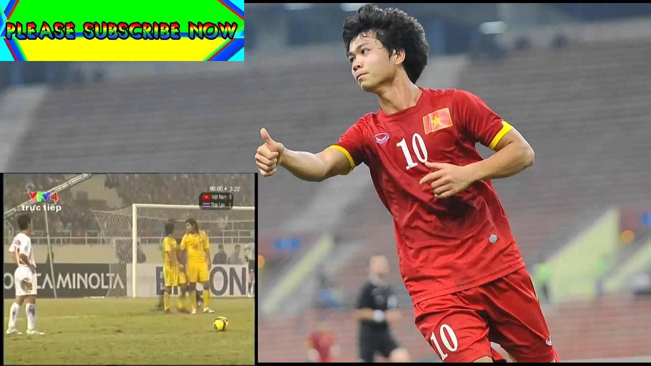 Công Vinh ghi bàn thắng vào lưới Thái Lan đem về chức vô địch