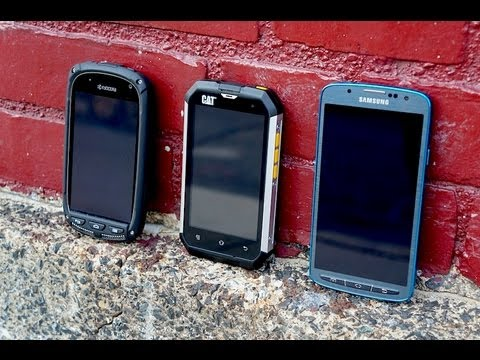 Cat B15 Vs Galaxy S 4 Active Kyocera Torque Amp More Youtube