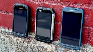 CAT B15 vs Galaxy S 4 Active, Kyocera Torque, & more | Pocketnow