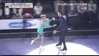 """Tatiana Volosozhar  and  Maxim Trankov """"Stars"""" Fantasy on ice 2015"""