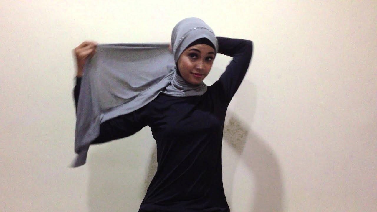 Hijab Tutorial By Elzatta Style 1 YouTube