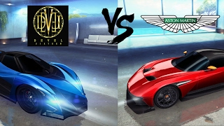 Asphalt 8: Aston Martin Vulcan vs Devel 16 Prototype (Azure Coast Reverse)(A top contender battle on one of the most decisive tracks for this pair of cars. One one hand the devel has long straights for speed but must face the S turns ..., 2017-02-02T00:44:53.000Z)