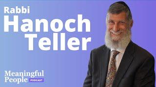 Super Storyteller - Rabbi Hanoch Teller   Meaningful People #47