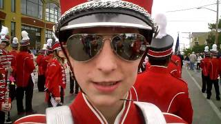 Port Townsend Rhodey Parade: Interview Brady Arthur High School Drummer