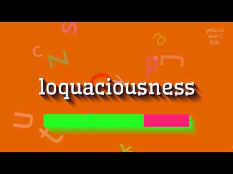 "How to say ""loquaciousness""! (High Quality Voices) thumbnail"