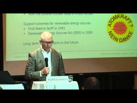 Energy Revolution!? Lessons from German and Danish Energy Policy: Petri Hakkarainen