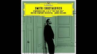 Shostakovich Symphony No 11 The Year 1905 BSO Andris Nelsons 2018