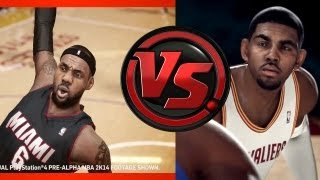 Nba 2k14 vs. nba live 14 - my thoughts on e3 gameplay trailers & next-gen cyberfaces - e3m13